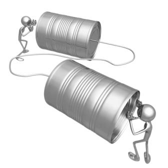Communication tins