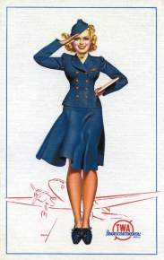 TWA Flight Attendant