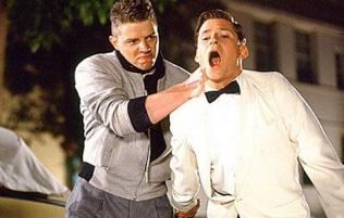 Biff Tannen & George McFly
