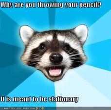 Stationary pencil