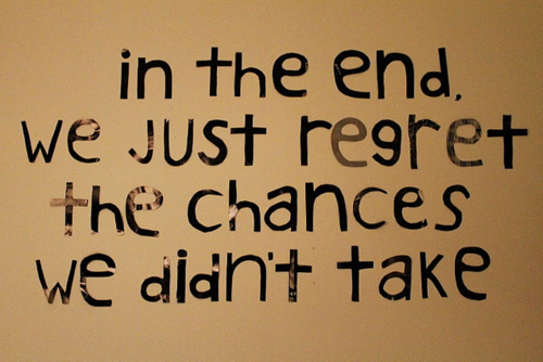 Love Regret Quotes Images: Live Life Like There's No Tomorrow