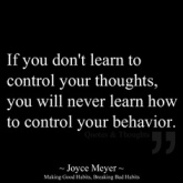 Control behaviour