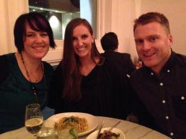 Karen, Hope and Tom