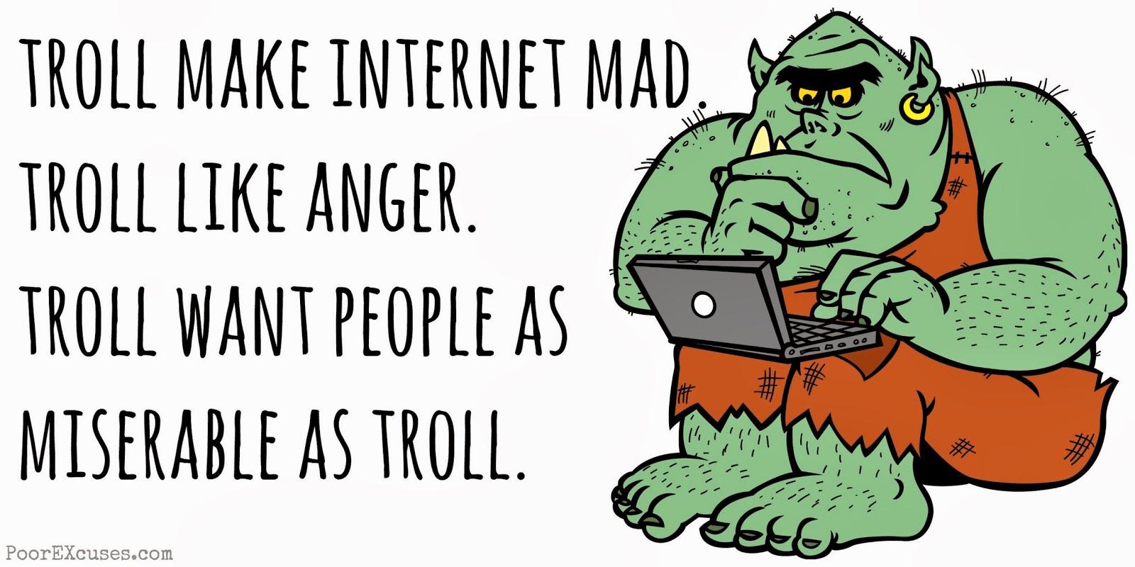 троллинг во  интернете почто это